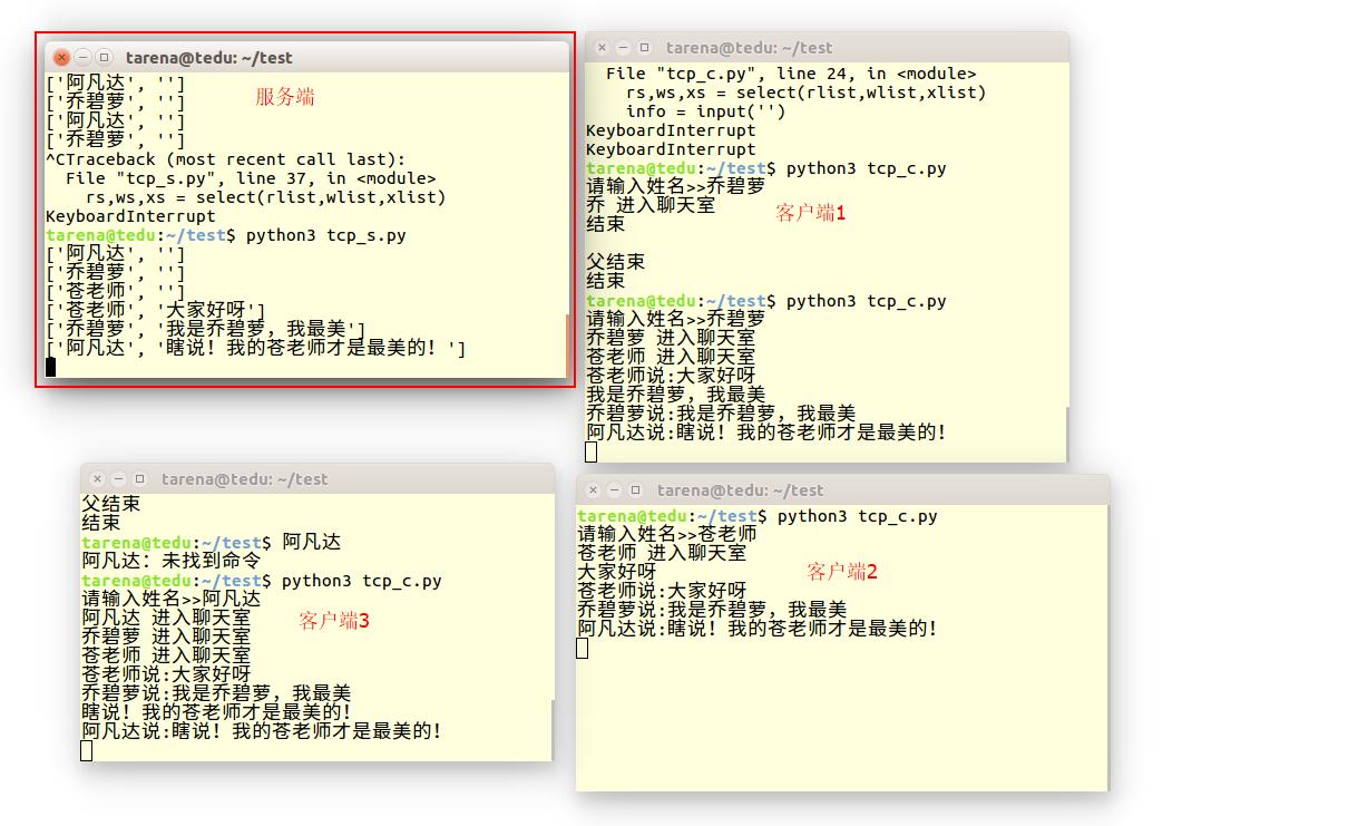 先看我写的代码的运行结果